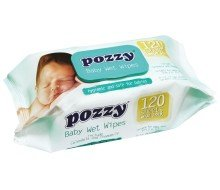 Pozzy Baby Wet Wipes w/Cap - Camomille&Calendula