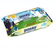 Ponky Baby Wet Wipes - Play Time