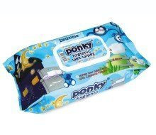 Ponky Baby Wet Wipes w/Cap - Bed Time